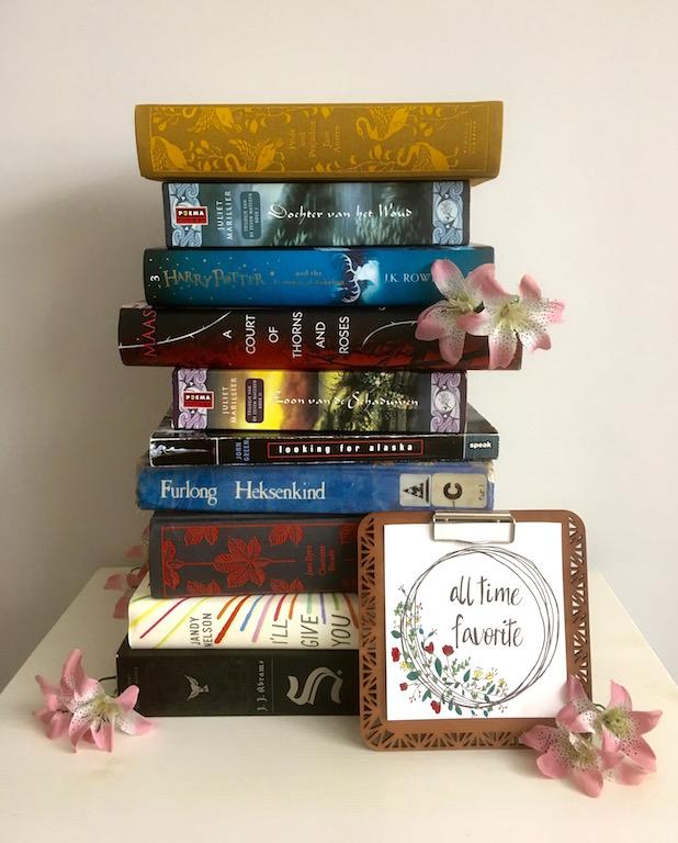 Mijn top 10 mooiste boeken