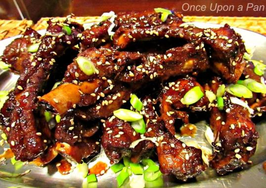 Chinese pork ribs in the pressure cooker
