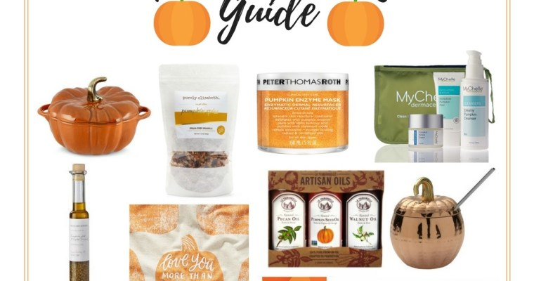 2017 Holiday Gift Guide for Pumpkin Lovers