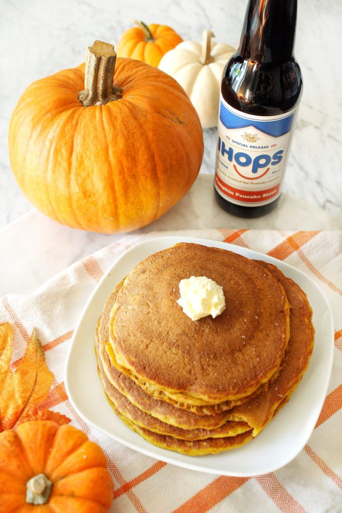 Pumpkin Pancakes at IHOP