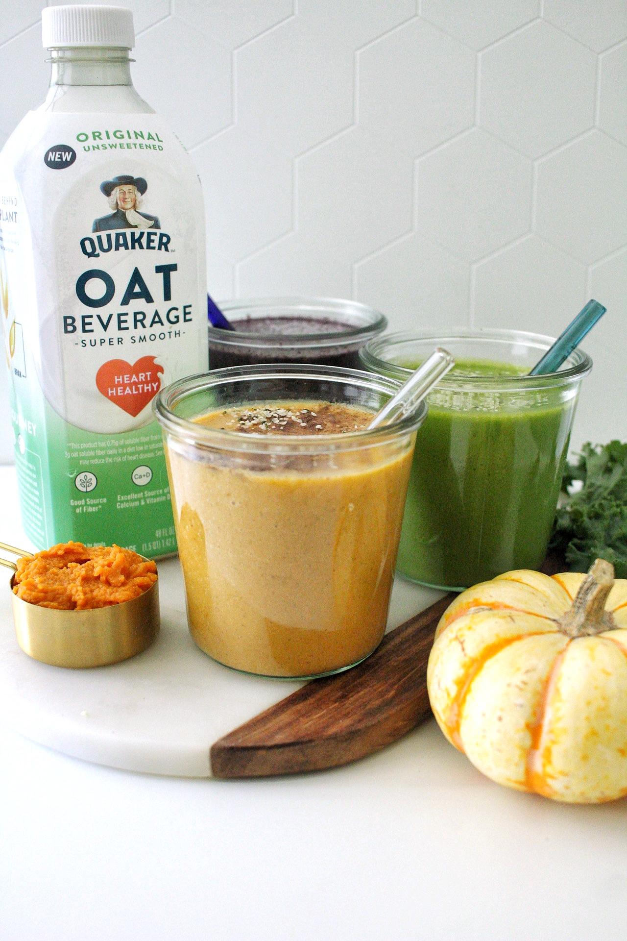 oat milk smoothies