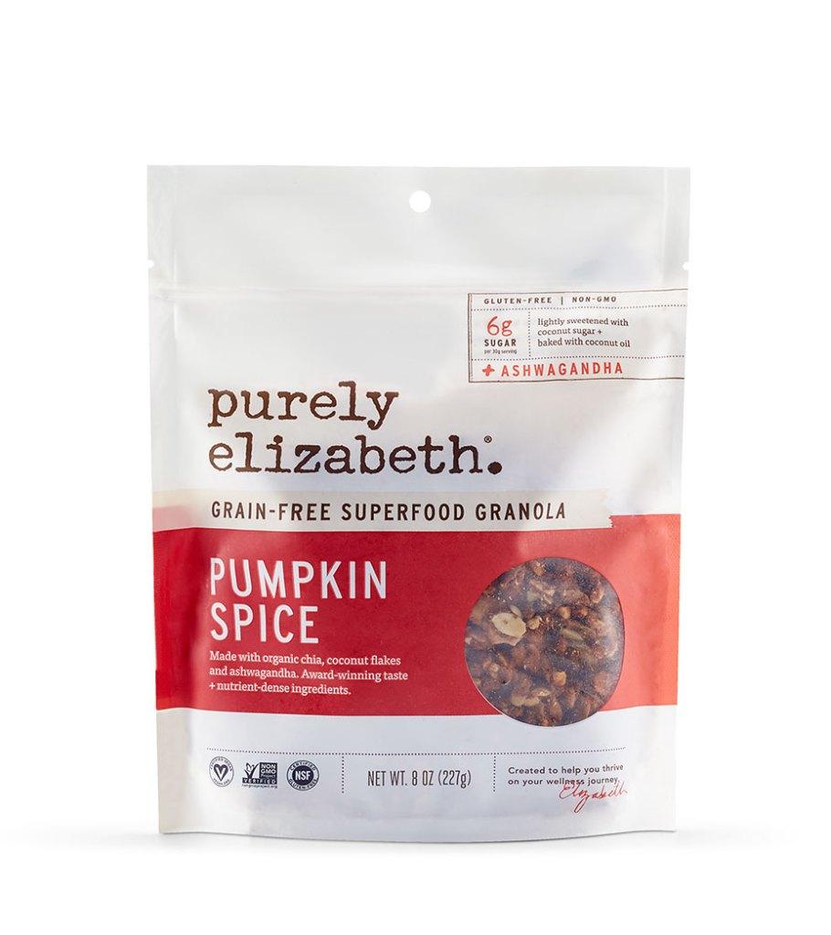 purely elizabeth pumpkin spice grain free granola