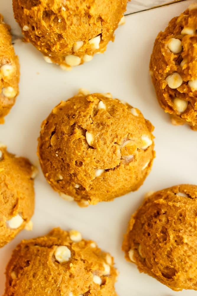 best fluffy pumpkin white chocolate cookies