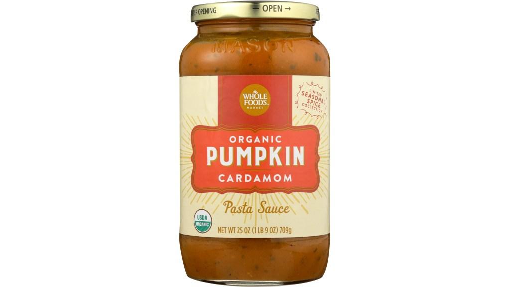 pumpkin cardamom pasta sauce