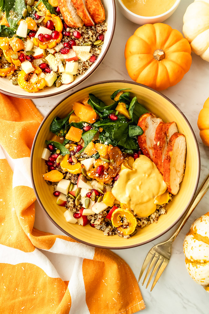 fall buddha bowl