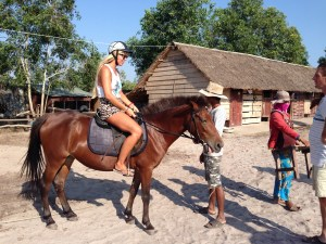 Review of horse riding in Otres beach