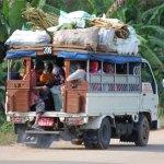 How to ride a Dala- Dala in Zanzibar