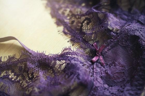 Accessorize burgundy bra Nightwear