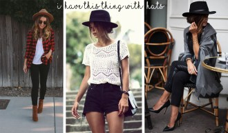 hats inspiration looks outfits