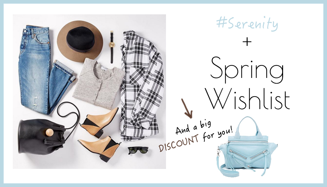 Serenity and Shopbop wishlist