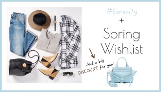 Serenity and Shopbop wishlist