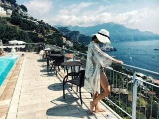 copricostume pizzo beachrobe lace Amalfi Costiera Amalfitana