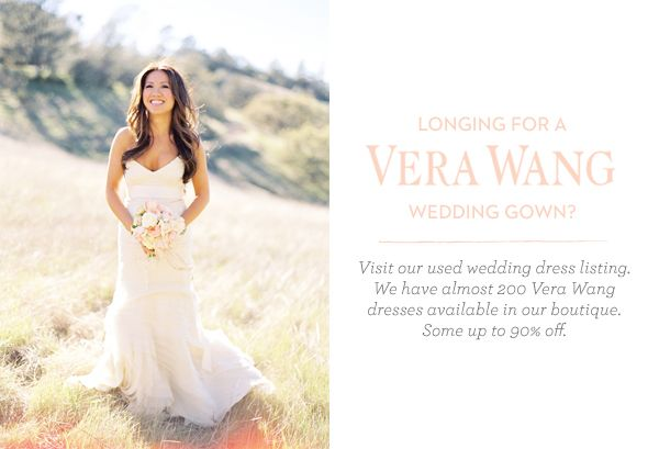 Used Vera Wang Wedding Dresses Once Wed