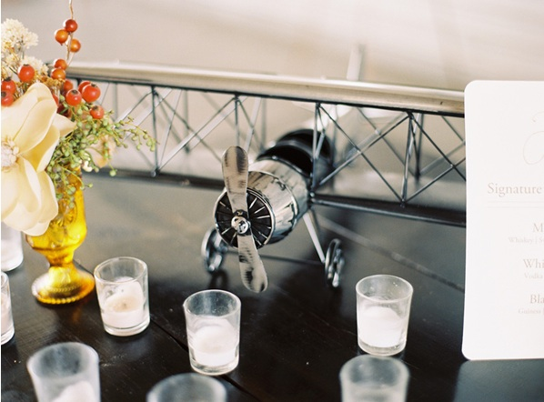 Airplane Hangar Wedding Once Wed