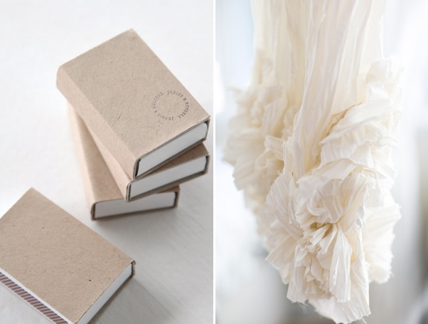 Matchbook Wedding Favors Handmade Wedding Dress Once Wed