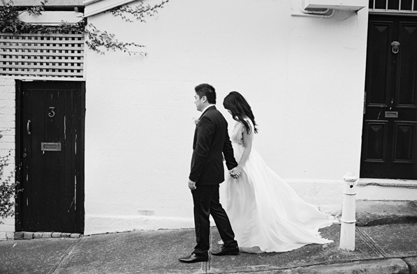 Classic Black And White Wedding Once Wed