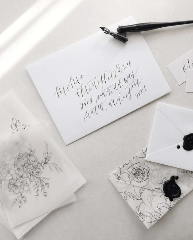 Free Class From If I Made Fine Art Wedding Invitations
