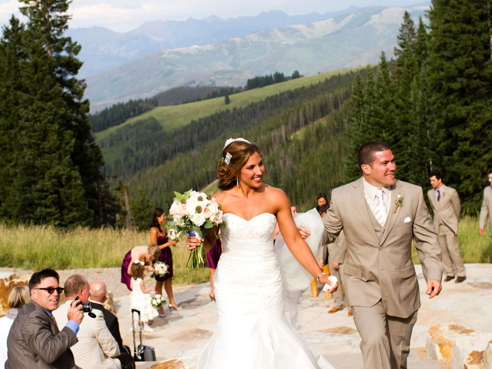 beaver creek wedding ceremony site