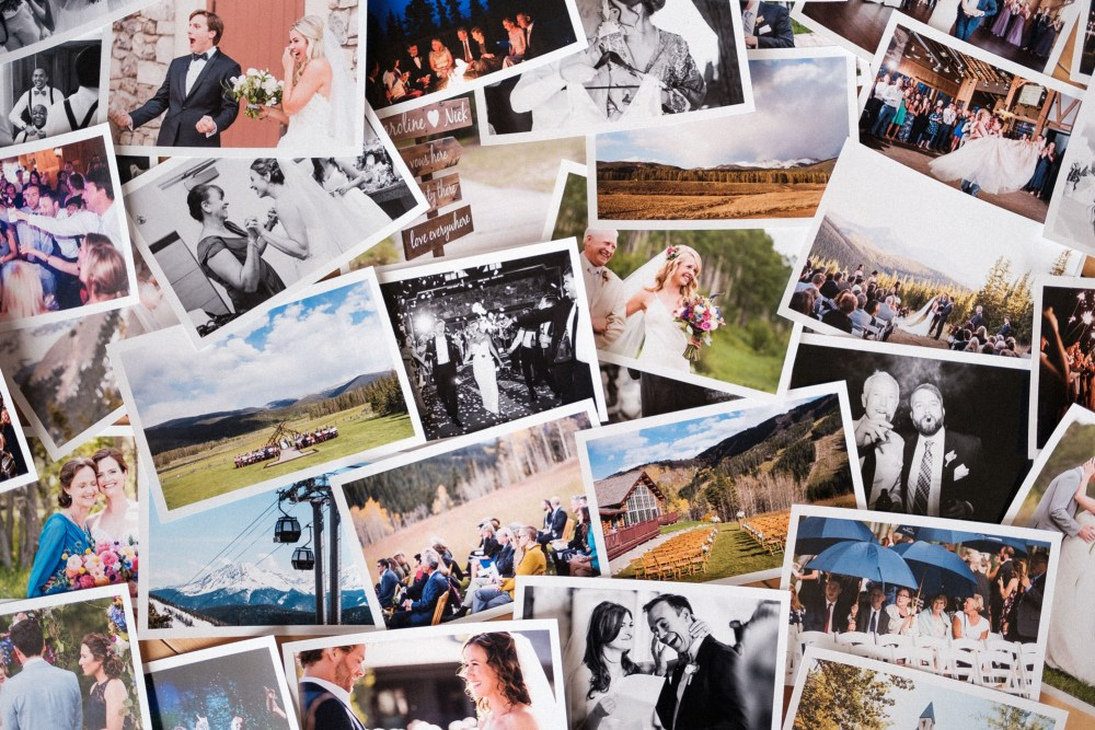 photos of colorado mountain weddings