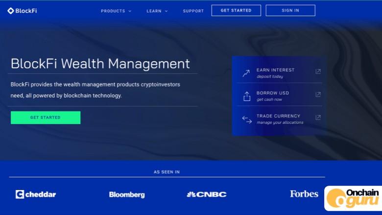 Create a BlockFi account - Earning interest on crypto - Onchainguru.com