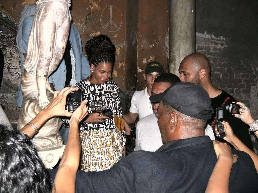 Beyoncé en La Habana Fotos: cortesía de La Guarida