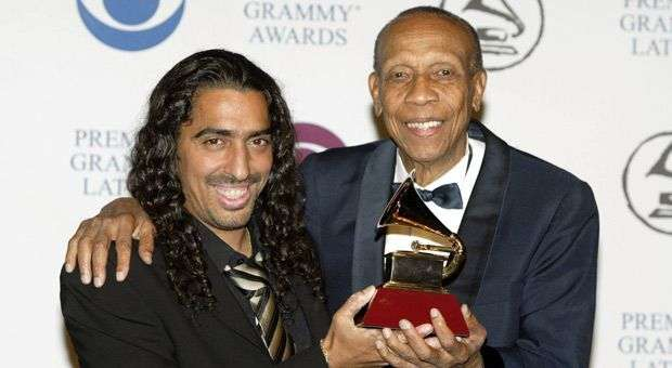 El Cigala y Bebo con el Grammy
