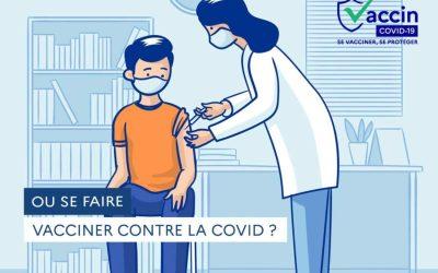 Le centre de vaccination de nouveau ouvert