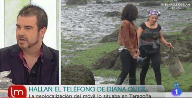 Recuperación de datos del móvil de Diana Quer