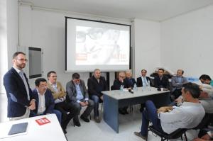 Carlo Marino & bois alla conferenza