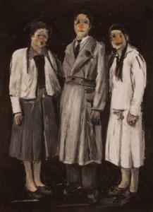 Lisa Cutrino, I tre porcellini
