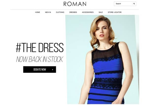 the dress-website