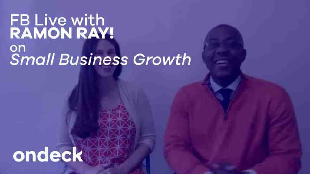 Small business tips with Ramon Ray and OnDeck