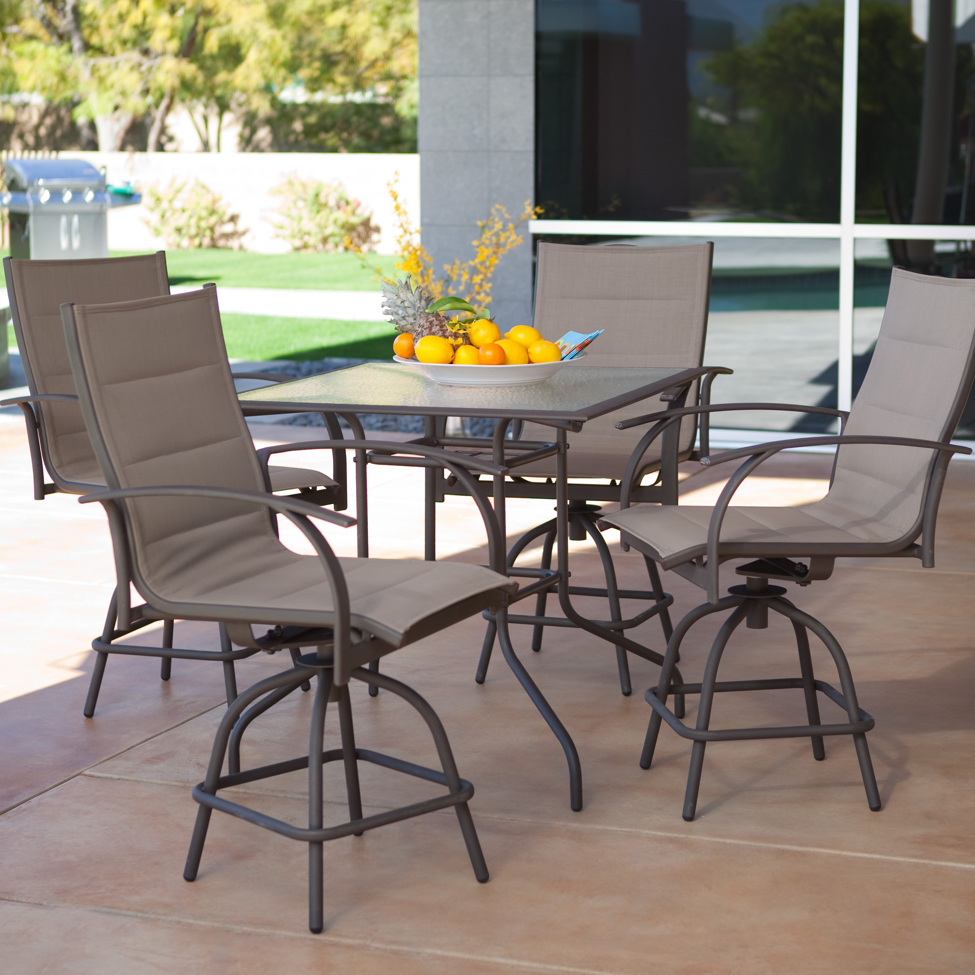 Furniture Enjoy Your New Outdoor Furniture With Bar