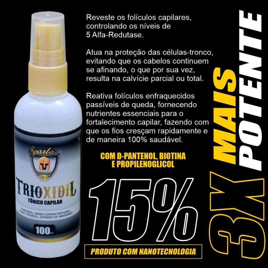 Trioxidil da Spartan Formen 15% onde comprar