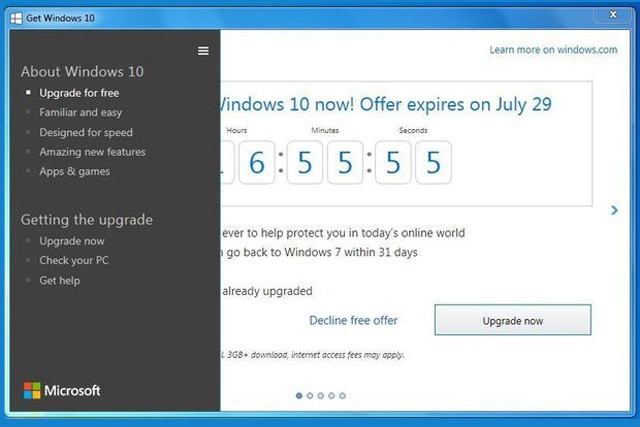 Latest Windows 10 Upgrade Notice Is As Pushy As Ever | Digital Trends
