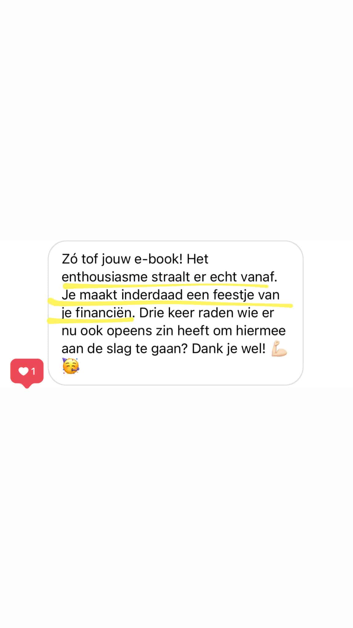 Review e-book Krijg grip op je financiën