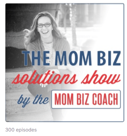Podcast voor mompreneurs Mom Biz Solutions with Lara Galloway, The Mom Biz Coach on Apple Podcasts