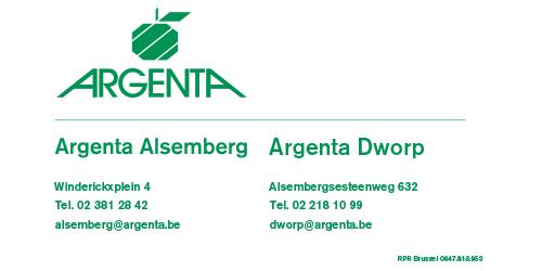 Argenta Dworp Alsemberg