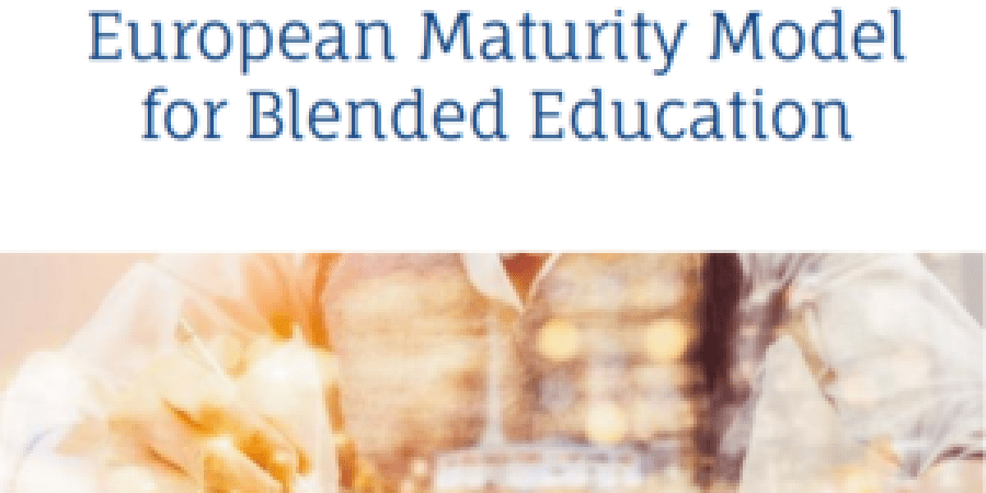 Blende learning; european maturity model for blended education