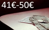 Entre 41€ e 50€
