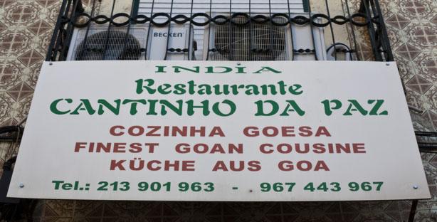 CANTINHO DA PAZ