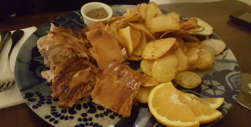 d afonso o gordo restaurante tematico sé lisboa comida portuguesa leitao da bairrada