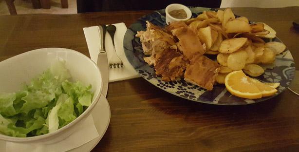 d afonso o gordo restaurante tematico sé lisboa comida portuguesa leitao