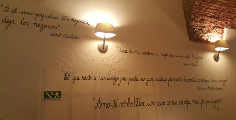 meson andaluz restaurante espanhol tapas vinhos chiado lisboa