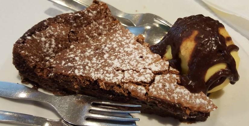 estrela do mar marisqueira ribamar ericeira bolo chocolate