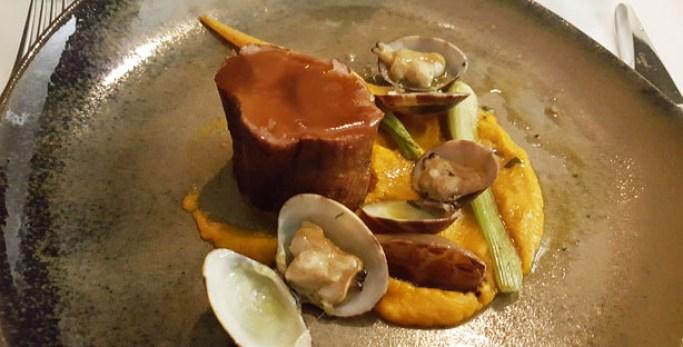 tagide restaurante sofisticado chef nuno diniz chiado lisboa cachaço porco