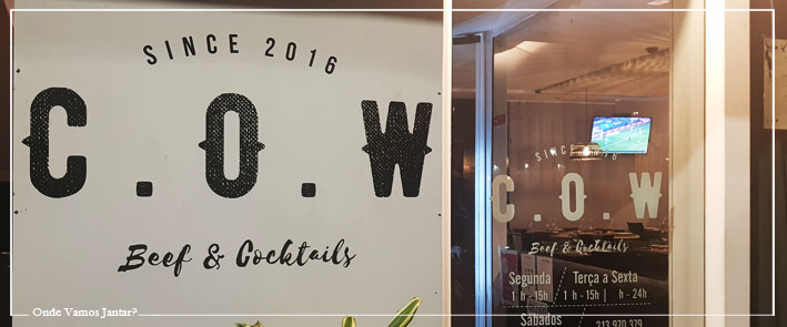 C.O.W BEEF & COCKTAILS
