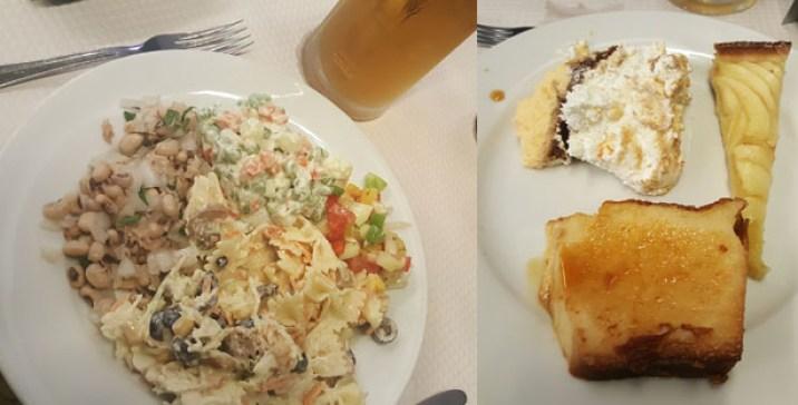 quitanda do forte restaurante tradicional buffet carcavelos saladas
