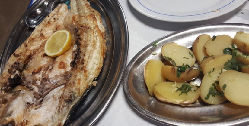 tasquinha do manel restaurante tradicional tasca peixe vilamoura algarve robalo