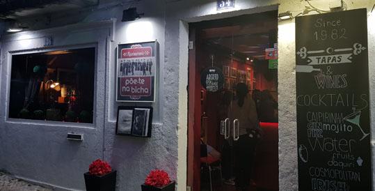 poe-te na bicha restaurante portugues bifes grupos ate tarde bairro alto lisboa